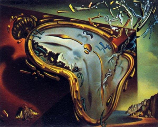 Particolare da dipinto di Salvador Dalì
