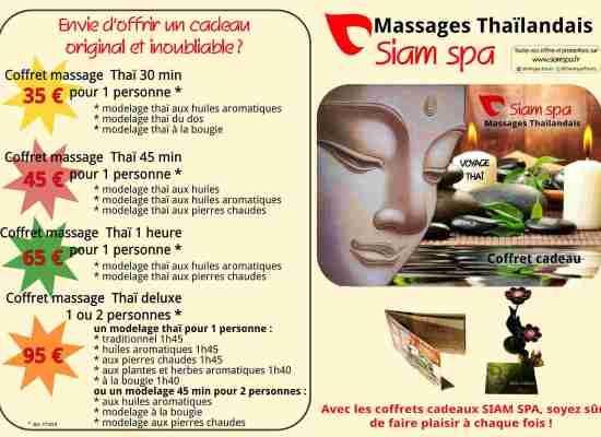 Se faire plaisir, faire plair : les coffrets cadeaux Siam Spa