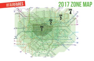 London Map By Zones.London Needs Fairfares Join Our Campaign Sian Berry Am