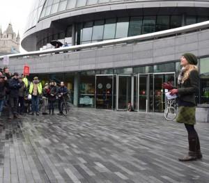 Halt the privatisation of public space