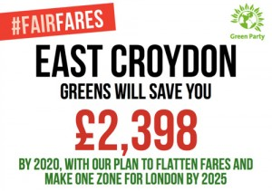 East Croydon - Greens will save you £2,398 by 2020