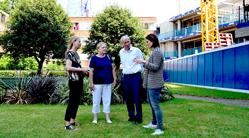 Visit to residents on Kipling Estate who are fully in control of their regeneration plans