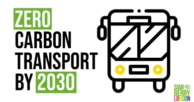 Making London the first zero carbon transport city