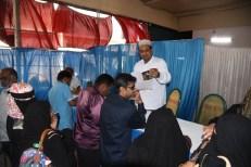 Siasat's Millat Fund organized 94th Du-ba-Du (Face-to-Face) Matrimonial Alliances on 3rd February 2019 at S A Imperial Garden, Tolichowk. Mr. Zaheeruddin Ali Khan, Managing Editor, The Siasat Daily, Dr. Shakeel A. Samdani, member (AIMPLB), Rabbani, Bhagwan(Latur), Vilayat Ahmed, Salimullah, Social activist, Akram Ullah Jabbar Khan, Retd Chief Commissioner Income tax (Pune), Osman-ul-Hajri, Proprietor of Regal Convention Center were the guests of honour. Mr. Syed Khalid Mohiuddin Asad, Coordinator Du Ba Du can also be seen. (Photo:Laeeq)