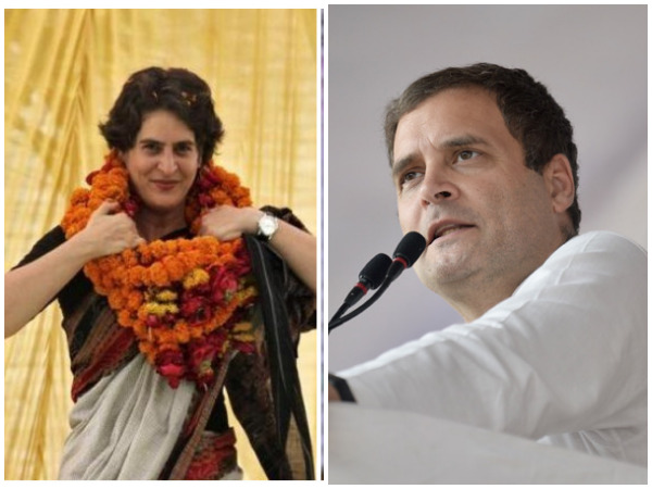 Image result for Rahul, Priyanka to campaign in UP on Wednesday