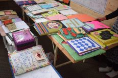 A view of another section of the Craft Exhibition based on the theme of Arabic language studies.