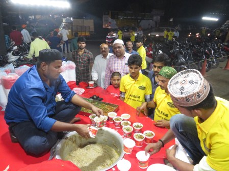 During the holy month of Ramzan the Haleem becomes the favourite dish of not only Muslims but non-Muslims of Gachi Bowli who are mainly employed in IT companies.Photo:Laeeq