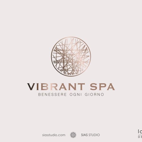 """Logo design precostruito """"Vibrant SPA"""" Design elegante e moderno"""