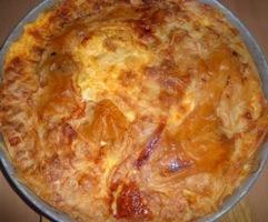 Byrek me djathe. Receta gatimi tradicionale greke.