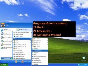 Cfare eshte ping. Si behet ping (Windows Xp & 7). Tutoriale shqip 1