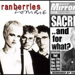 "E verteta e tekstit te kenges ""Zombie"" te grupit muzikor ""The Cranberries"". Johnathan Ball, Irish Republican Army, Tim Parry"