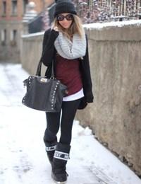 Ja si duhet te vishemi per te mos e ndjere te ftohtin. te ngrohta kepuce doreza si duhet