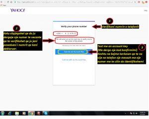 Si te hap nje adrese e-mail (Yahoo). si te hapim . Tutoriale shqip 3