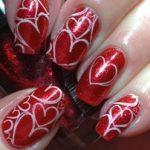 Disa ide dizenjimesh per thonjte ne diten e Shen Valentinit.