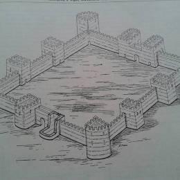 Keshtjella Iliro-Romake Castrum-Vig Kastri i Vigut ne fshatin Vig