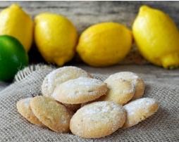 Biskota me arome limoni. Receta gatimi. Kuzhina shqiptare gjalpe