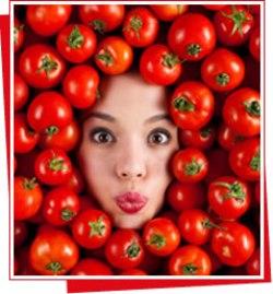 Maska me domate qe zhduk shume shpejt rrudhat ne balle dhe anash syve.