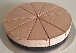 Torte e lehte dhe e thjeshte. Receta gatimi. nutella philadelphia