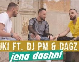 Uki ft DJ PM & DAGZ - Jena Dashni (Teksti)