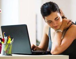 RReziqet qe ju kanosen nese nuk qendroni ulur sic duhet ne oret e gjata te punes.