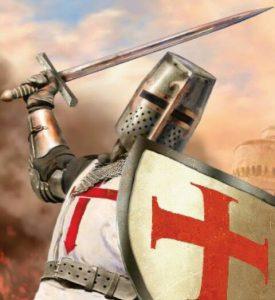 ARBNORET dhe TEMPLARET. Protektoret e shenjte Katolike ne Mbreterine Kryqtare te Qipros 2