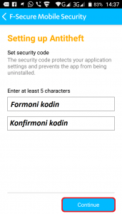 Programe per telefona Android. F-Secure Mobile Security. 13 Tutoriale Shqip