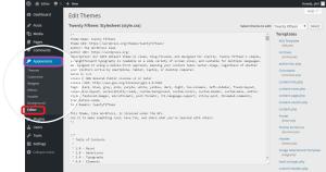 Si te bejme Enable Editor ne WordPress. Tutoriale Shqip per faqet wordpress. appaerance