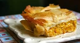 Byrek me djathe dhe oriz. Recete gatimi greke.