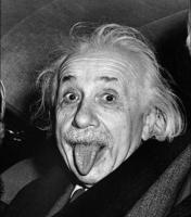 Historia e fotografise me te paguar te Albert Einstein.