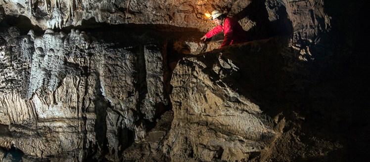 Spéléologie Ariège réseau actif Grotte Siech