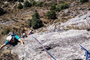Grande voie Calamès - Voie Pour Lubeline