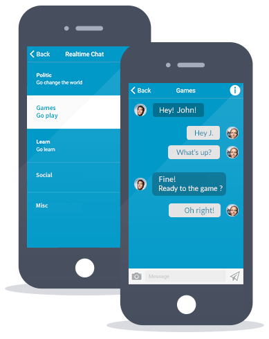 Siberian CMS App Maker's Chat feature