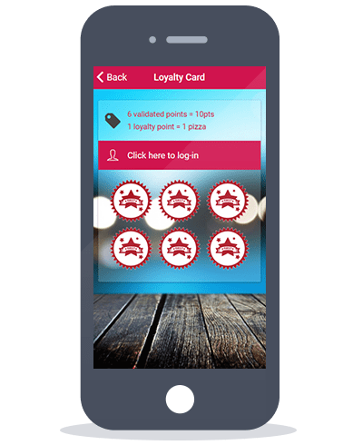 Siberian CMS App Maker's Loyalty card feature