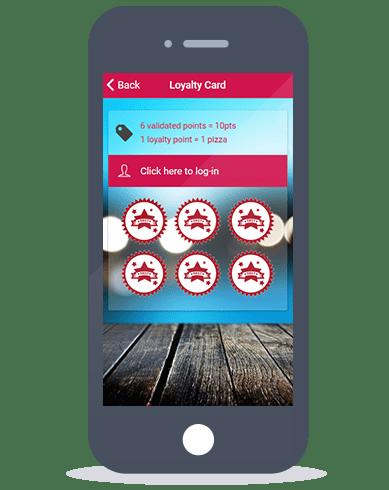 Siberian CMS App Maker's Loyalty card feature