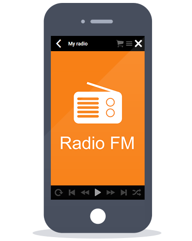 Siberian CMS App Maker's Radio feature