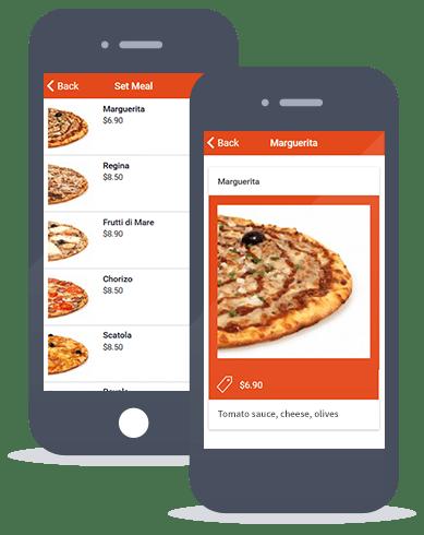 Siberian CMS App Maker's Set meals feature