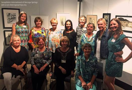 Soroptimist of Borrego Springs members