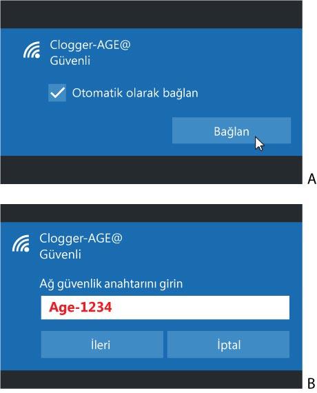 Clogger Sıcaklık ve Nem Ölçer Wi-Fi Kurulumu