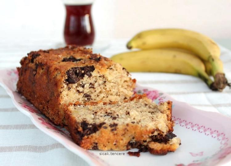 Banana Bread - Muzlu Kek