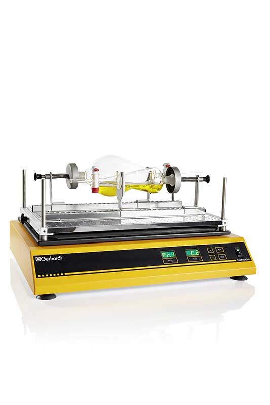 agitador de grandes dimensiones con movimiento longitudinal sica medicion
