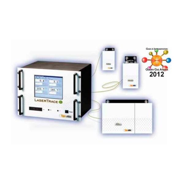 analizador de nivel de traza laser trace marca tiger optics sica medicion