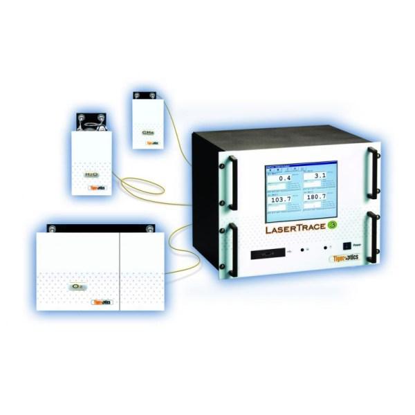 analizador de nivel de traza laser trace sica medicion