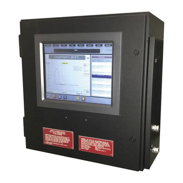 analizador de propiedades frias en linea sica medicion