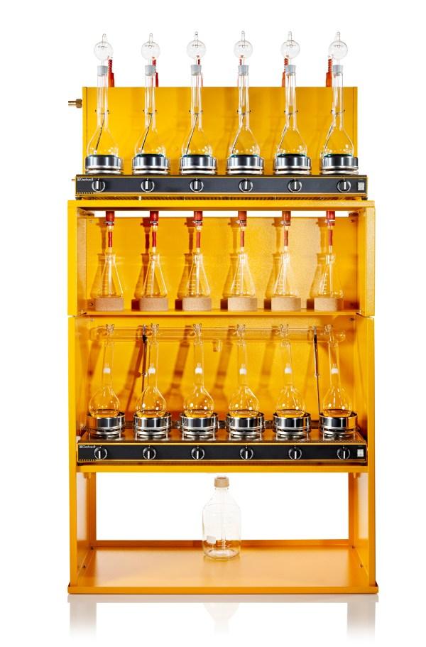 aparato de digestion y destilacion clasico sica medicion