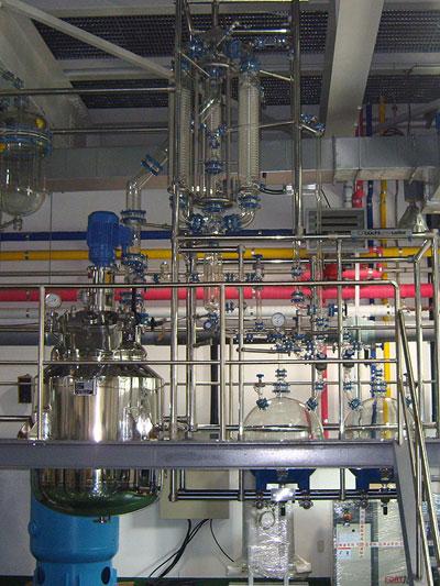 equipos de proceso para produccio plantas para produccion marca buchiglasuster sica medicion
