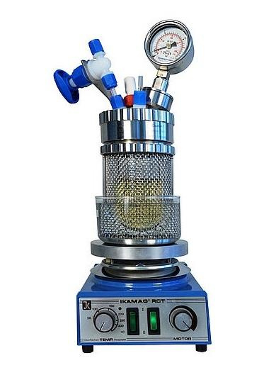 reactor a presion de metal miniclave modelo miniclave de metal sica medicion
