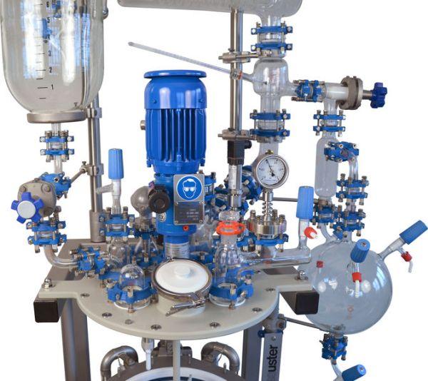 reactor mini planta piloto midipilot modelo midipilot sica medicion