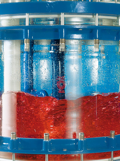 reactor piloto de vidrio chemreactor cr marca buchiglasuster sica medicion