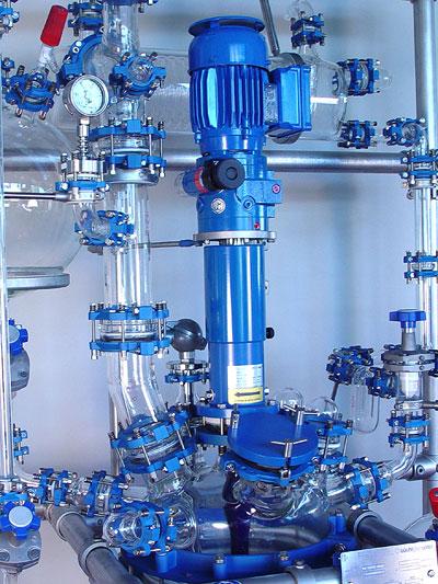 reactor piloto de vidrio chemreactor gr marca buchiglasuster sica medicion