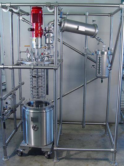 reactores a presion produccion pequeña escala de hidrogeneracion sica medicion